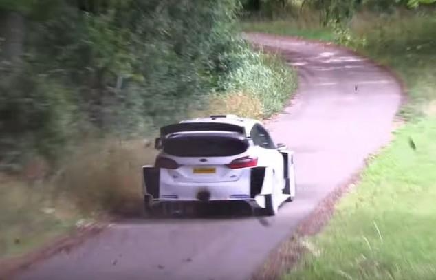 Bottas vuelve a probar un Ford Fiesta WRC en Alemania - SoyMotor.com