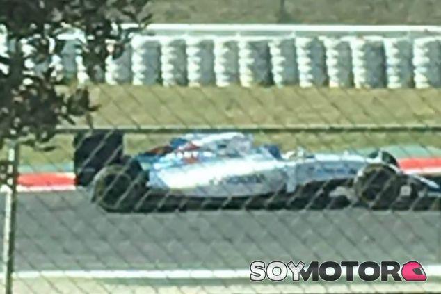 Bottas completa el 'filming day' de Williams en Barcelona - LaF1