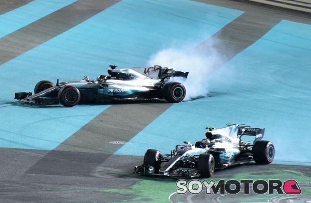 Bottas y Hamilton celebran su doblete - SoyMotor.com