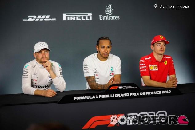 GP Francia F1 2019: Rueda de prensa del domingo - SoyMotor.com