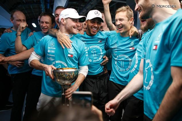 """Brawn: """"Gran parte del éxito de Mercedes se lo deben a Hamilton"""" - SoyMotor.com"""