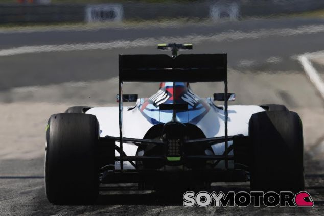 Valtteri Bottas con el FW37 en Hungría - LaF1