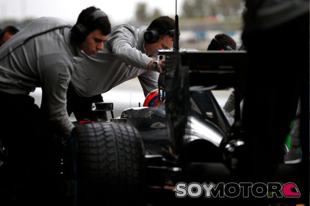 Valtteri Bottas en los tests de Jerez de la Frontera - LaF1