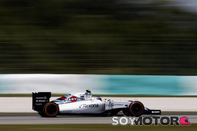 Valtteri Bottas ha vuelto al asfalto en Malasia - LaF1