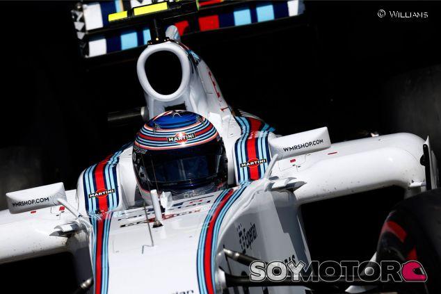 Valtteri Bottas a los mandos del FW36 - LaF1