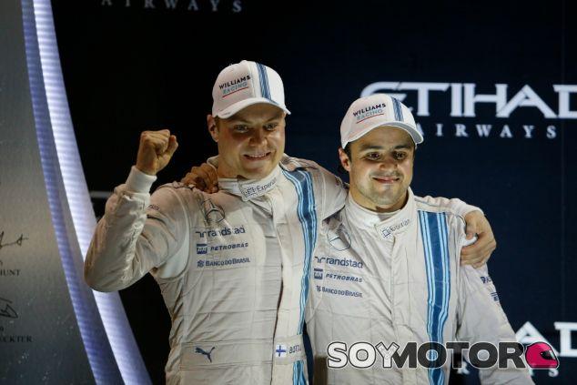 Bottas y Massa cerraron el año 2014 con un podio en Abu Dabi - LaF1
