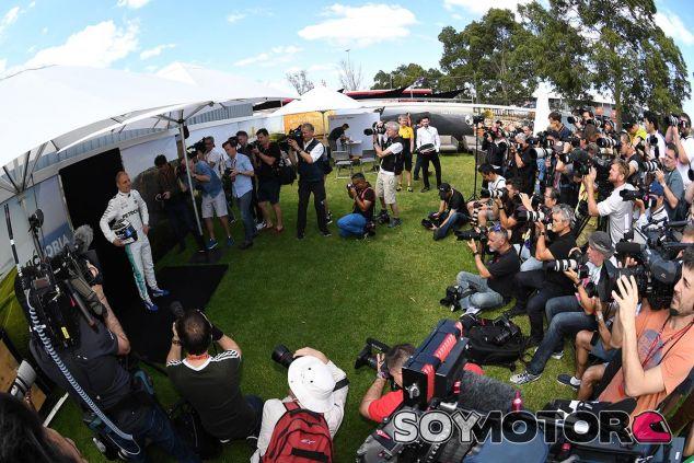 Valtteri Bottas en Australia - SoyMotor