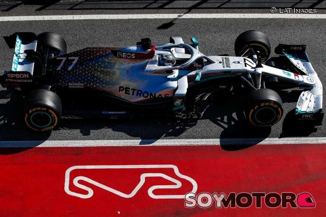 Valtteri Bottas en el Circuit de Barcelona-Catalunya - SoyMotor.com