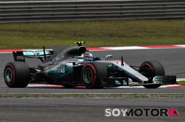Bottas en la clasificación del GP de China - SoyMotor