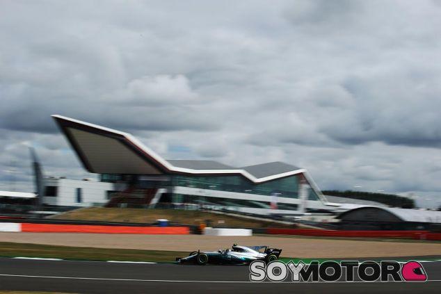 Valtteri Bottas en Silverstone - SoyMotor