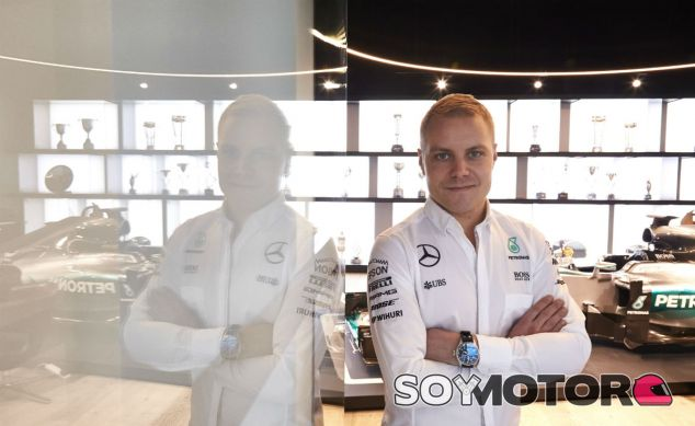 Bottas tras el anuncio oficial de su fichaje por Mercedes - SoyMotor
