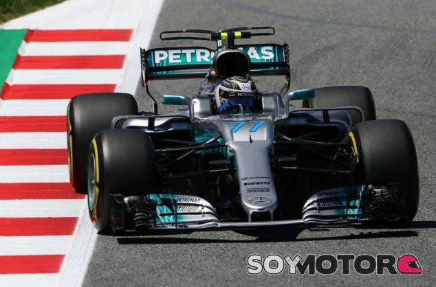 Bottas durante la carrera del Gran Premio de España - SoyMotor.com