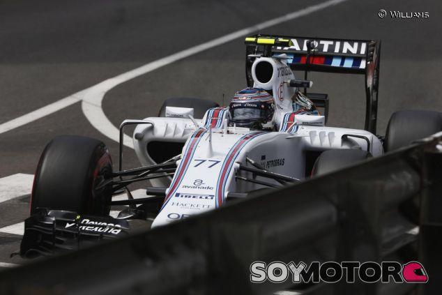 Valtteri Bottas con el Williams en Mónaco - LaF1