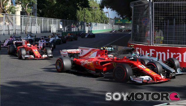 Ferrari en el GP de Azerbaiyán F1 2017: Domingo - SoyMotor.com