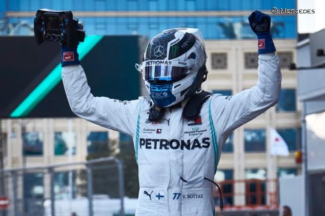 Valtteri Bottas en el GP de Azerbaiyán F1 2019 - SoyMotor
