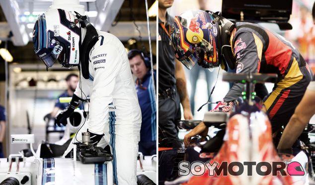 Valtteri Bottas y Carlos Sainz en imágenes de archivo - SoyMotor