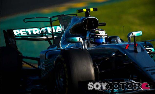 """Bottas: """"Fue un buen comienzo con Mercedes"""" - SoyMotor.com"""