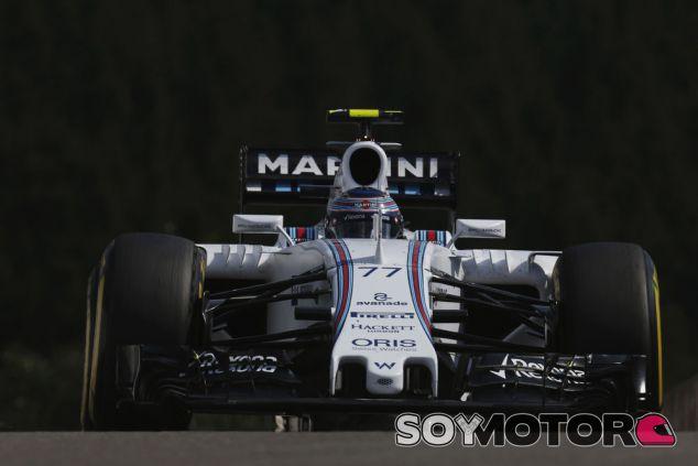 Valtteri Bottas con el Williams durante los entrenamientos libres de Spa - LaF1