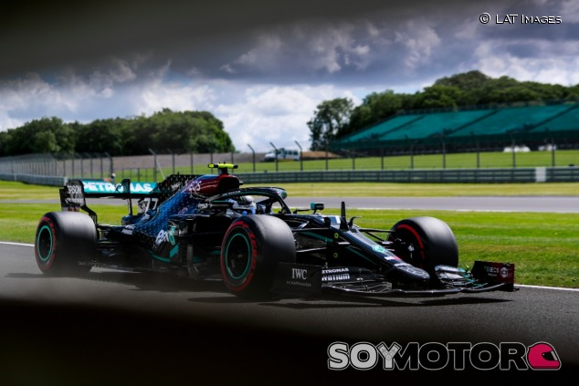 Valtteri Bottas en Silverstone - SoyMotor.com