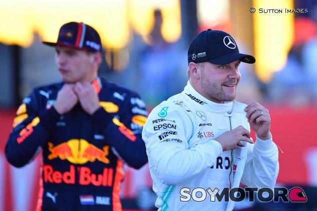 Max Verstappen y Valtteri Bottas en una imagen de archivo - SoyMotor.com