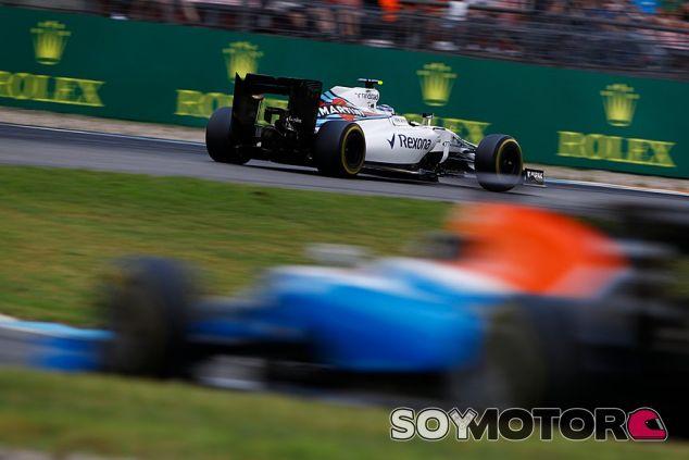 Bottas sólo pudo sumar dos puntos para el equipo - LaF1