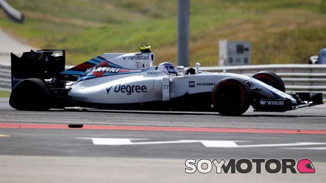 Así terminó el coche de Bottas tras la salida - LaF1