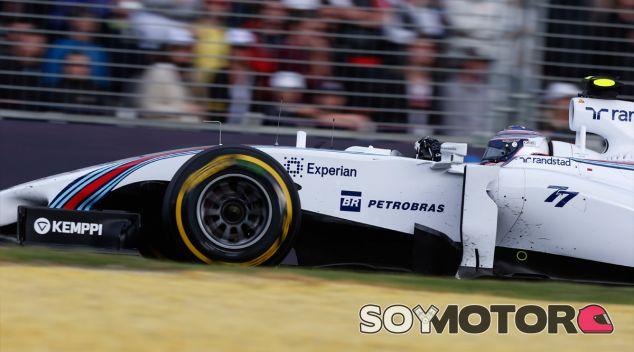 Valtteri Bottas con el FW36 - LaF1