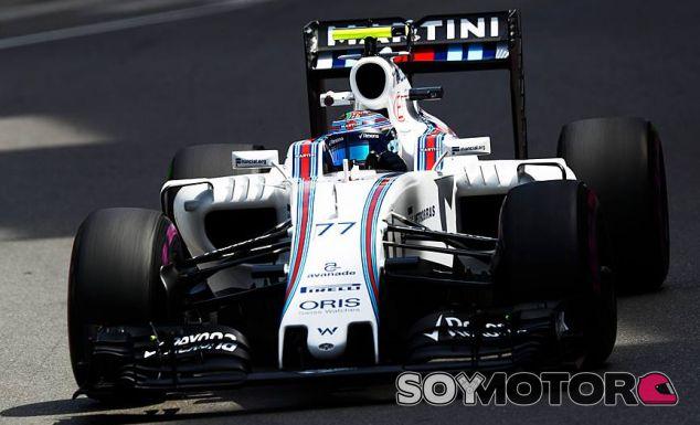 Valtteri Bottas, hoy en Mónaco - LaF1