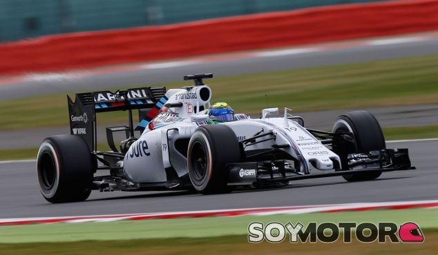 Felipe Massa en el Gran Premio de Gran Bretaña - LaF1