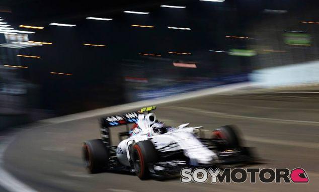 Valtteri Bottas en Singapur - LaF1