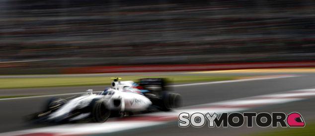 Bottas durante el Gran Premio de México - SoyMotor