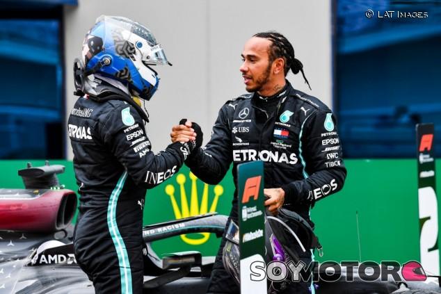 """Bottas, animado para las últimas tres carreras: """"Correré sin presión"""" - SoyMotor.com"""