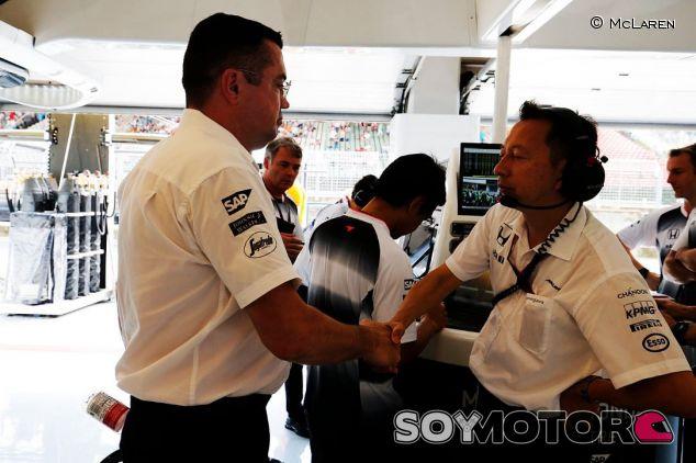 La relación entre McLaren y Honda está mejor que en 2015 - LaF1