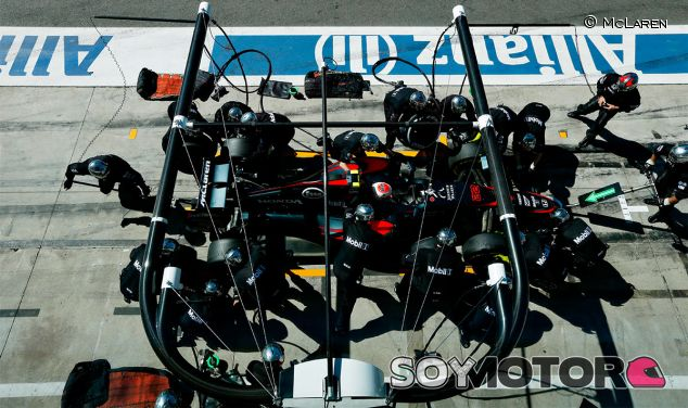 Jenson Button en Italia 2015 -  LaF1
