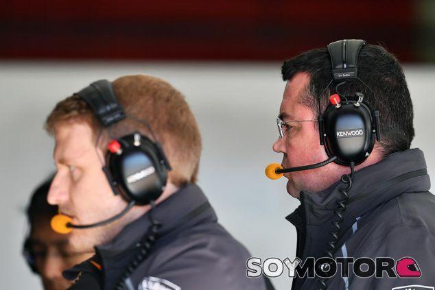 Eric Boullier en el Circuit de Barcelona-Catalunya - SoyMotor