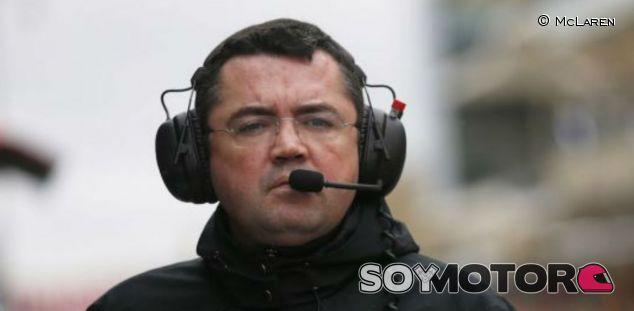 Boullier durante un Gran Premio esta temporada - LaF1