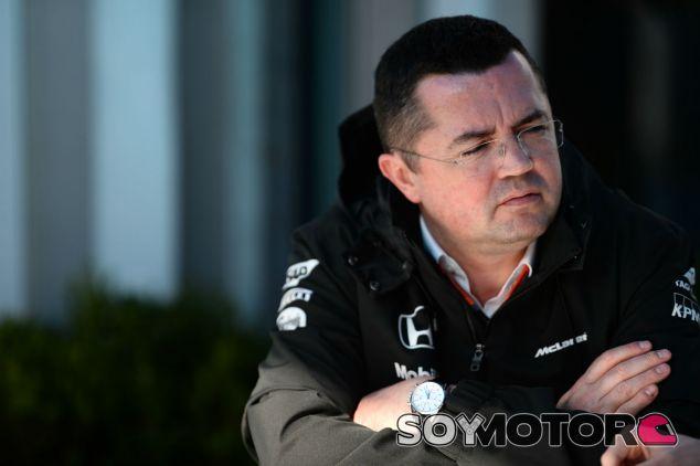 Eric Boullier en Australia - LaF1