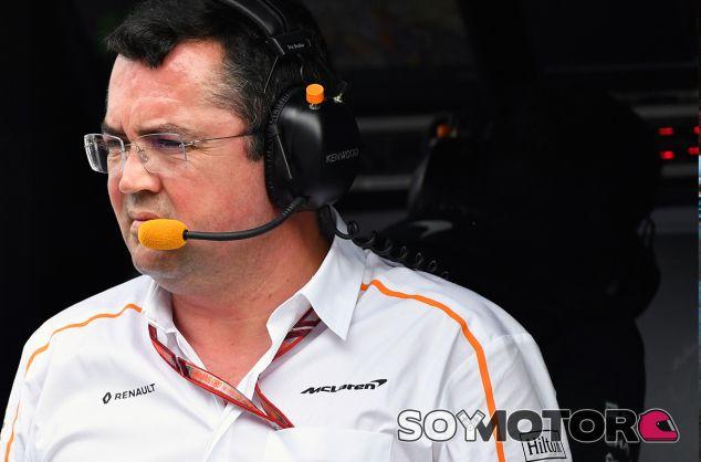 Éric Boullier en Australia - SoyMotor.com