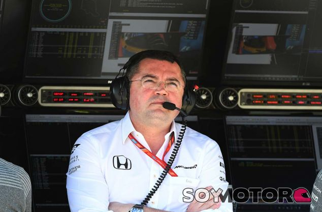 Éric Boullier en Hungaroring - SoyMotor.com