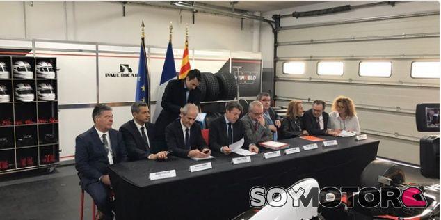 Paul Ricard firma el contrato para celebrar el GP de Francia - SoyMotor.com