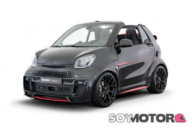 Brabus Ultimate E Facelift: el Smart EQ Fortwo Cabrio más picante - SoyMotor.com