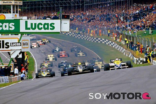 Salida del Gran Premio de Europa de 1985 - LaF1