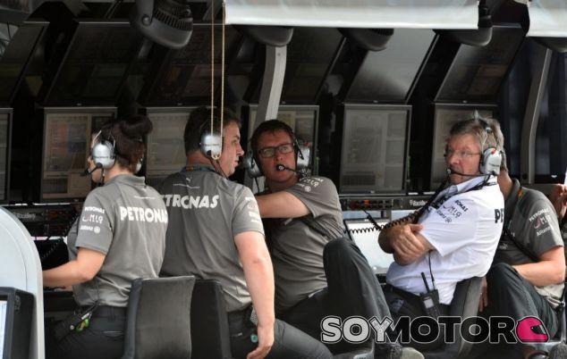 Brawn en su última temporada con Mercedes - SoyMotor