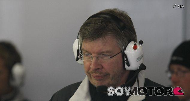 Brawn, durante su etapa en el equipo Mercedes - LaF1