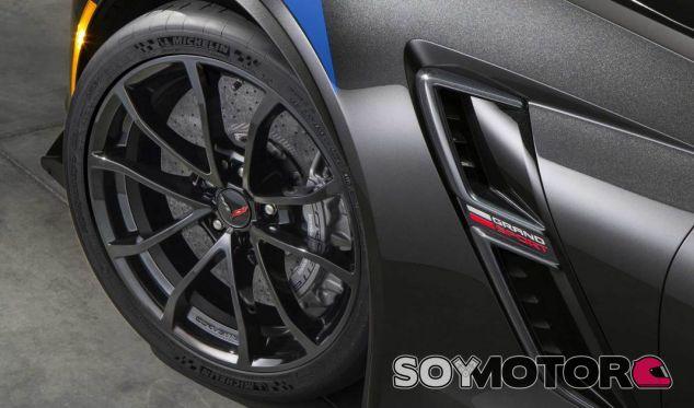 Así son los frenos Brembo de alto rendimiento del Corvette Gran Sport -SOyMotor