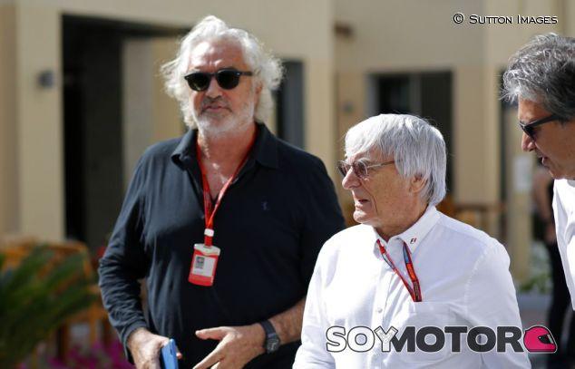 Briatore y Ecclestone en Abu Dabi - SoyMotor