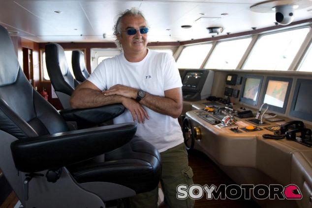 Flavio Briatore en su yate - LaF1