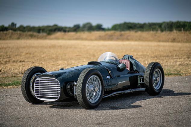 BRM Type 15 V16: el mito vuelve a la vida mañana en Goodwood  - SoyMotor.com