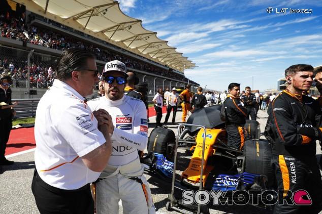Brown desaconseja a Alonso volver a la F1 con Renault - SoyMotor.com