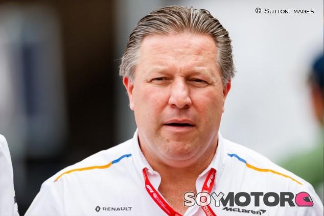 """Brown, tranquilo sobre el Brexit: """"McLaren se adaptará"""" - SoyMotor.com"""